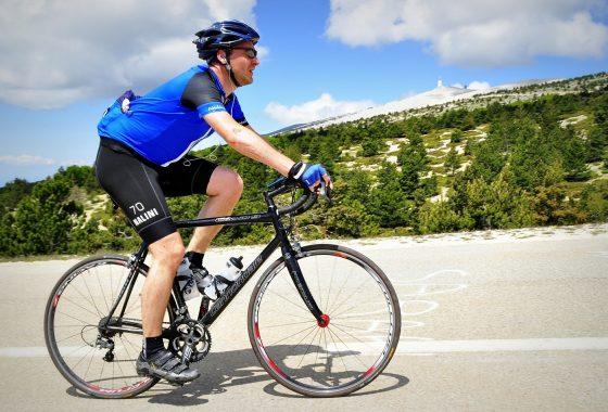 Le Mont Ventoux à vélo en tant que débutant